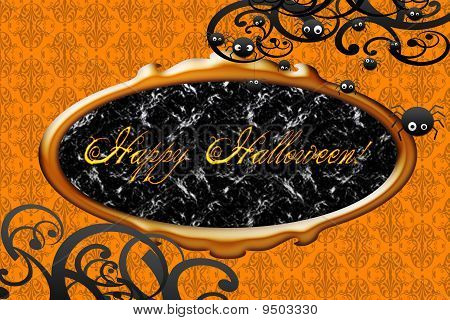 Happy Hallowen card