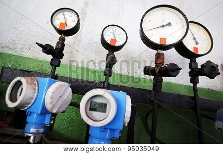 Thermal Power Station Manometers