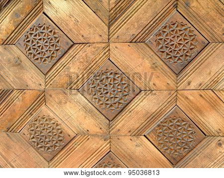Squared Wooden Pattern Texture