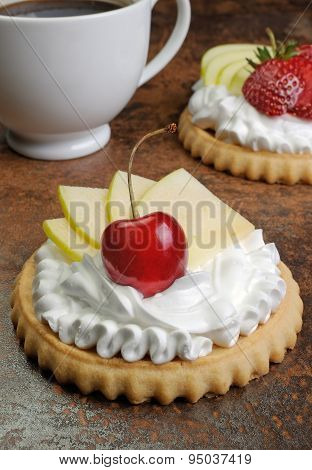 Tartlets With Fruits