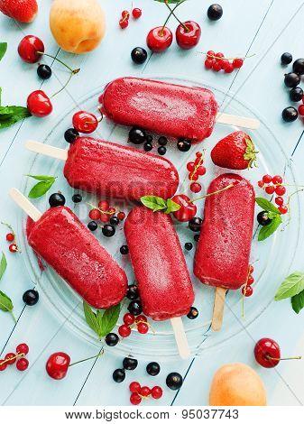 Berry Sorbet