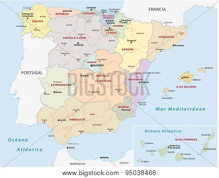 Autonomous Communities Of Spain