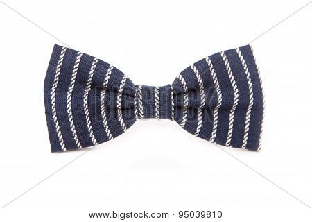 Bow tie for a boy isolated on white background