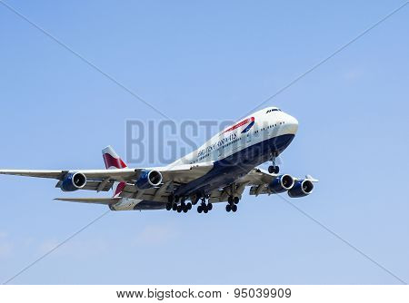 Airplane from British Airways