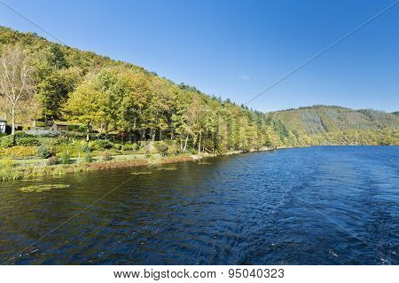 Rur Lake In Summer, Germany