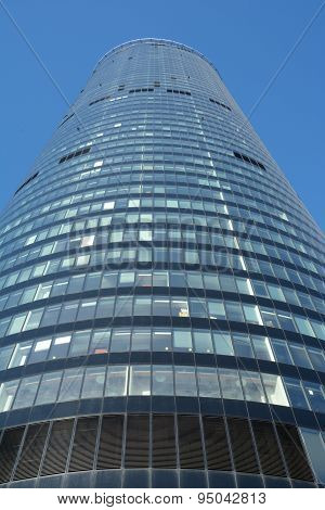 Sky Tower Office Building In Wroclaw, Poland
