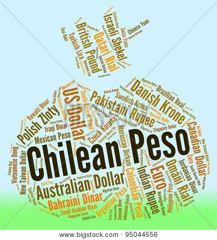 Chilean Peso Means Foreign Exchange And Coin