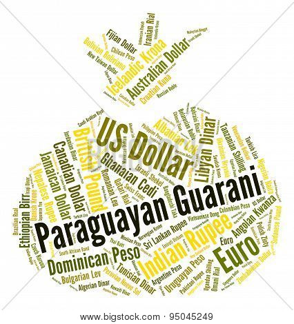 Paraguayan Guarani Indicates Foreign Exchange And Coin