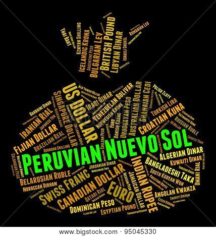 Peruvian Nuevo Sol Means Foreign Exchange And Coinage