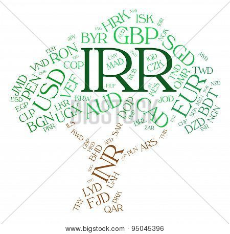 Irr Currency Means Iranian Rial And Broker