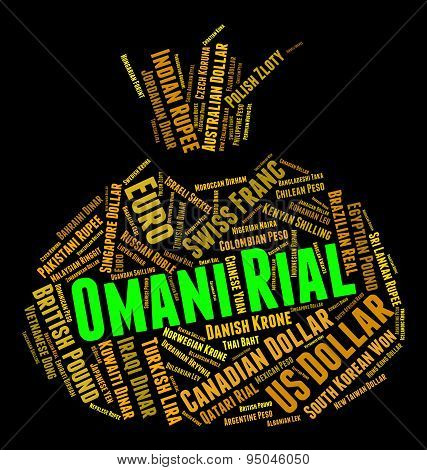 Omani Rial Means Foreign Currency And Forex