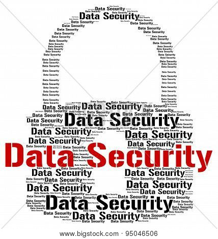 Data Security Shows Fact Bytes And Information