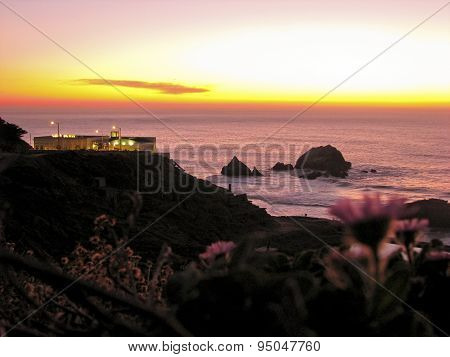 Sunset at Land's End, San Francisco