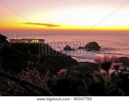 Sunset at Land's End, San Francisco