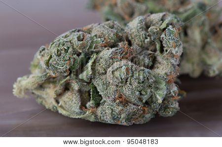 Medical Marijuana Close up