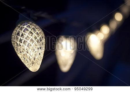 Decorative electric white lights