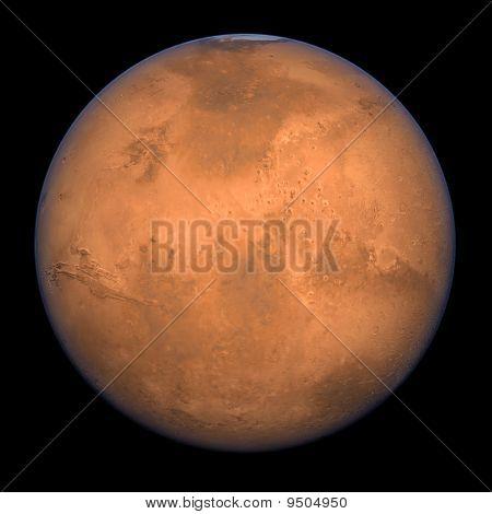 Tiro cheio de Marte