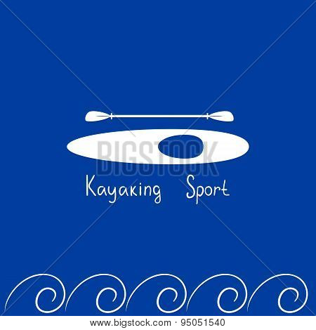 Card kayaking sport