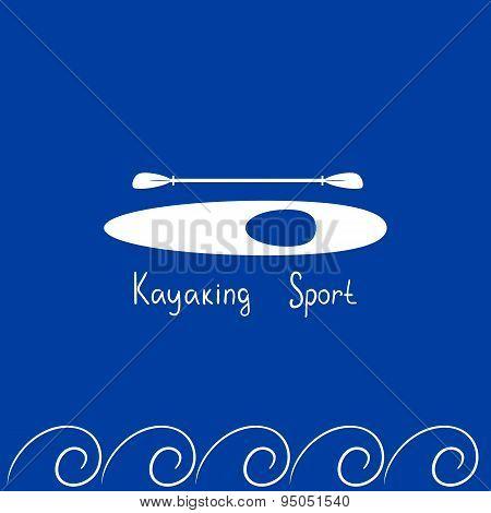 Card kayaking sport
