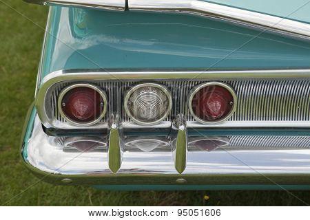 Vintage American Car Tail Lights