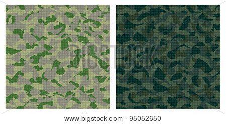 Dark Green Camouflage