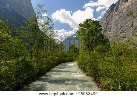 Lauterbrunnen Valley Stream
