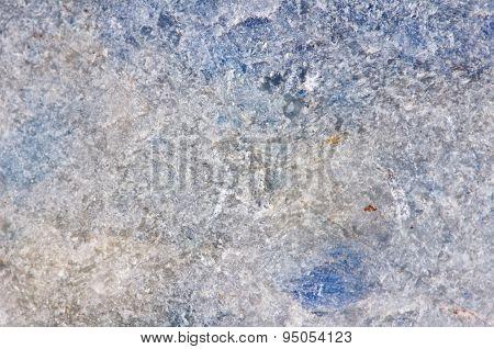 Stone Structure. Lazurite Mineral. Macro.