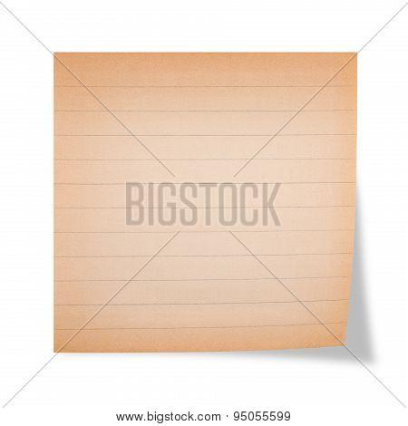 Ruled Sheet