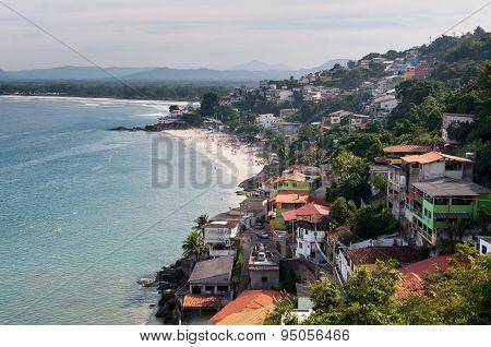 Brazilian Town along the Coast