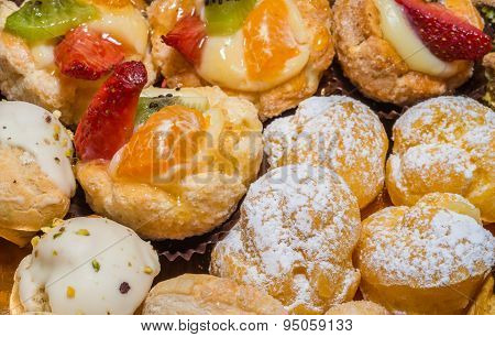 Italian Fruits Pastries