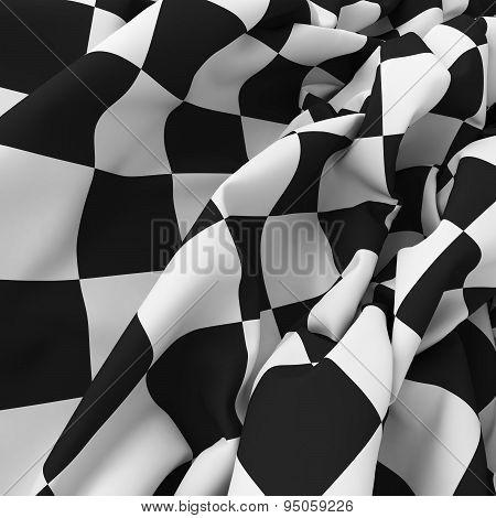 Auto sport grid flag background