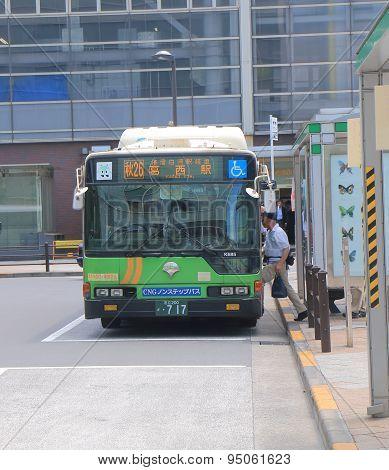 Tokyo bus public transport
