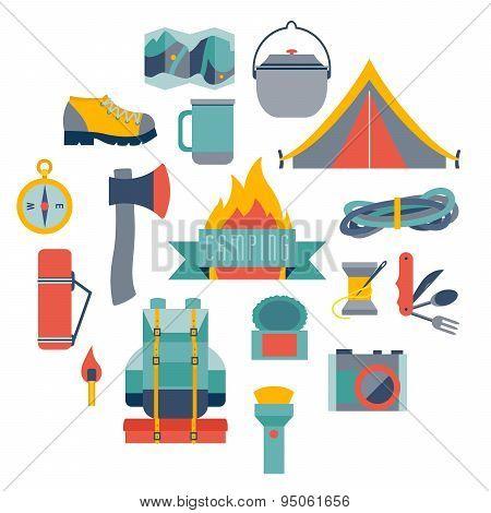 Hikingand camping
