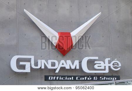 Gundam Cafe Odaiba Tokyo Japan