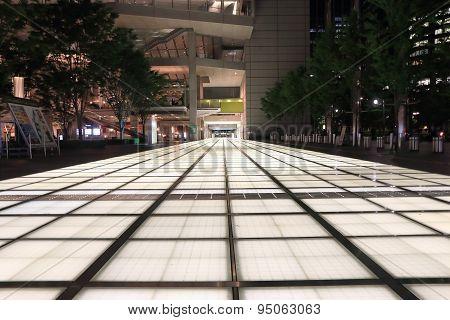 Tokyo night street Japan