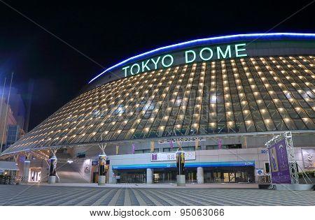 Tokyo Dorm baseball stadium