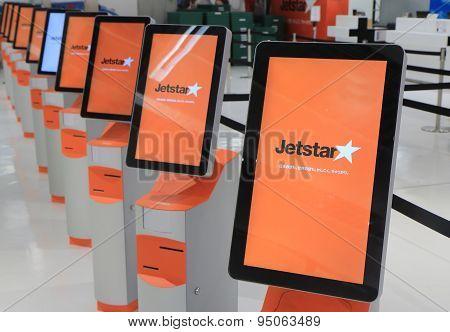 Jetstar airline check in