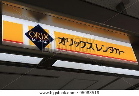 Orix rent a car Japan