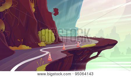 Canyon Road.