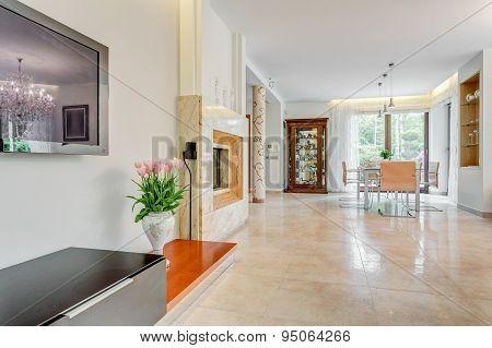 Interior Of Exclusive Mansion