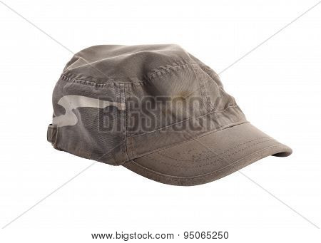 Cap Soldier Texture Isolated