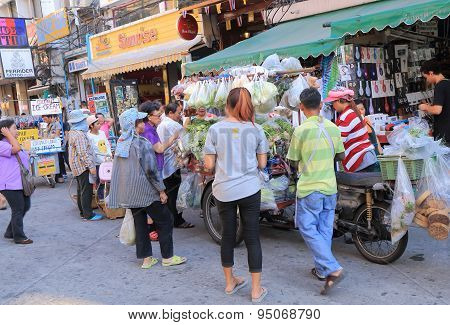 Local street shop Bangkok Thailand