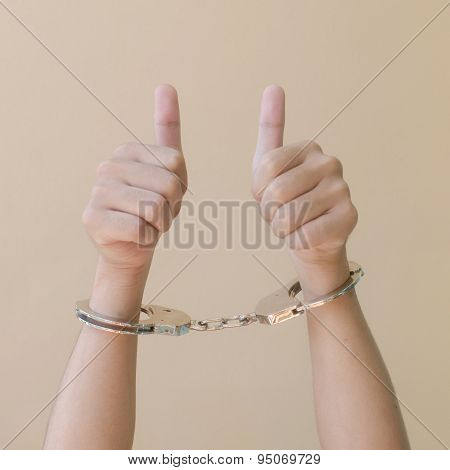 Hand In Shackle