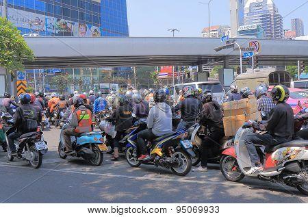 Motorbikes Bangkok Thailand