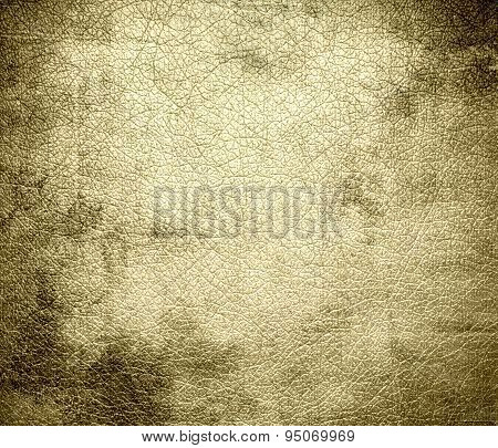 Grunge background of banana mania leather texture