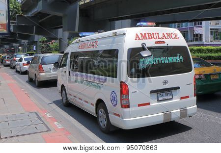 Ambulance Bangkok Thailand