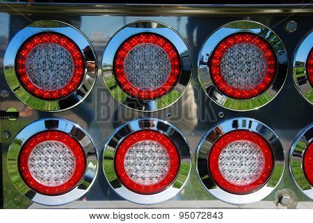 Shiny Back Lamps