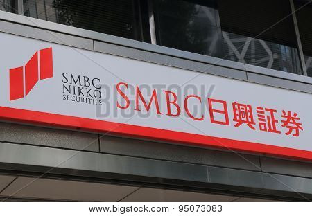 SMBC Nikko securities Japanese financial business