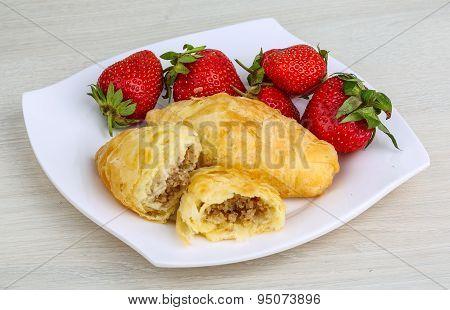 Azerbaijan Pastry - Shekerbura