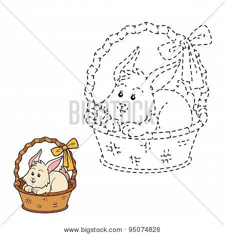 Connect The Dots (rabbit In The Basket)